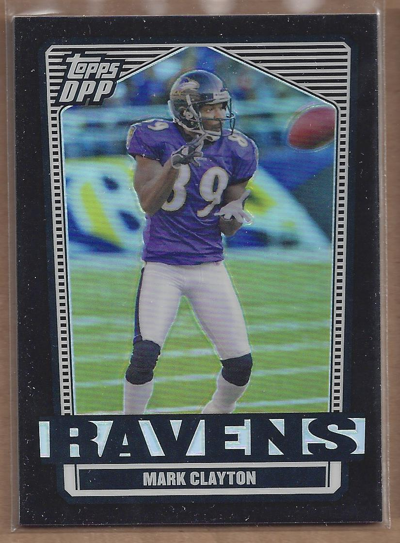 2007 Topps Draft Picks and Prospects Chrome Black Refractors #96 Mark Clayton