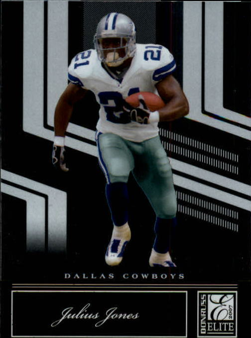 2007 Donruss Elite #27 Julius Jones