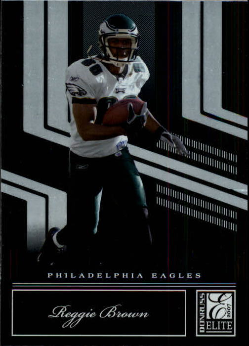 2007 Donruss Elite #76 Reggie Brown