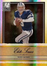 2007 Donruss Elite Series Gold #9 Tony Romo