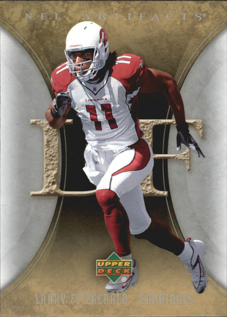 2007 Artifacts #3 Larry Fitzgerald