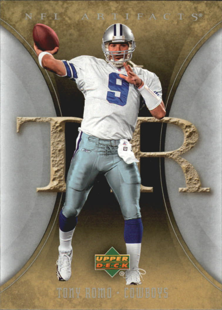 2007 Artifacts #27 Tony Romo