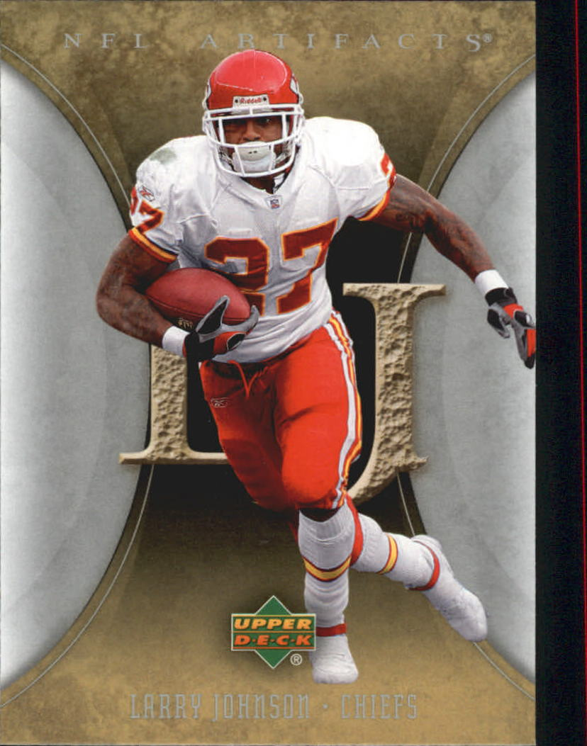 2007 Artifacts #52 Larry Johnson