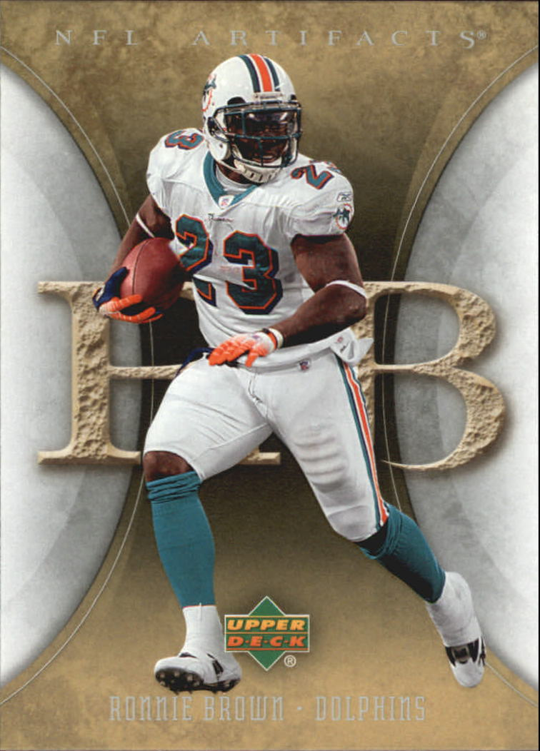 2007 Artifacts #55 Ronnie Brown