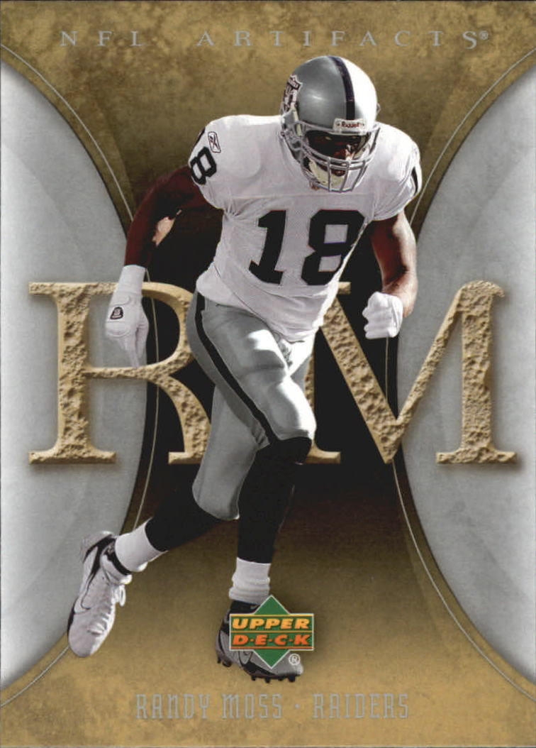 2007 Artifacts #75 Randy Moss