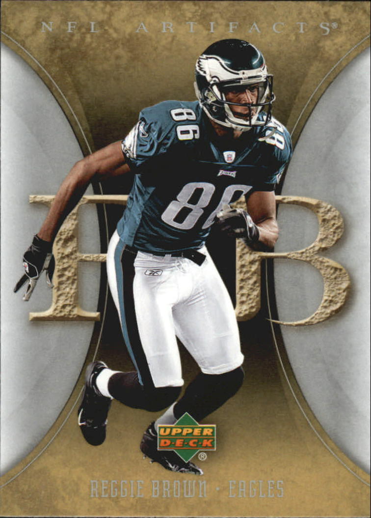 2007 Artifacts #78 Reggie Brown