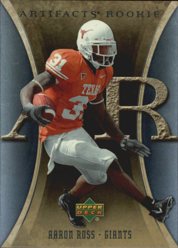 2007 Artifacts #101 Aaron Ross RC