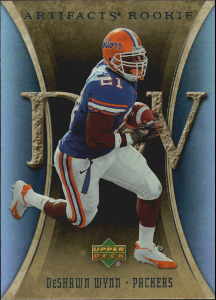 2007 Artifacts #168 DeShawn Wynn RC