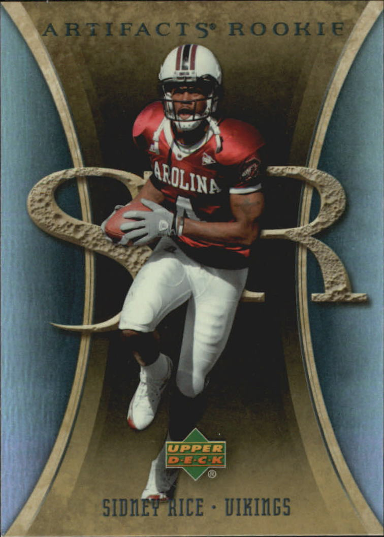 2007 Artifacts #194 Sidney Rice RC