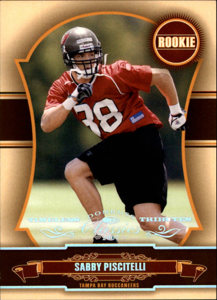 2007 Donruss Classics Timeless Tributes Silver #220 Sabby Piscitelli