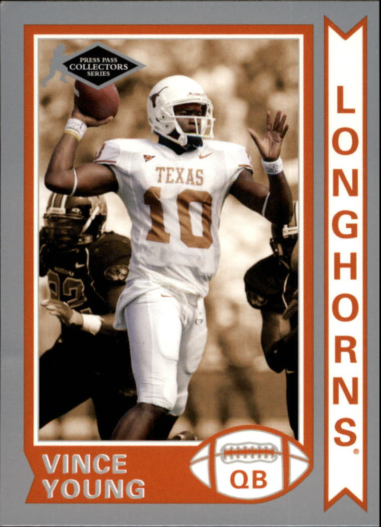 2006 Press Pass SE Old School Collectors Series #OS19 Vince Young