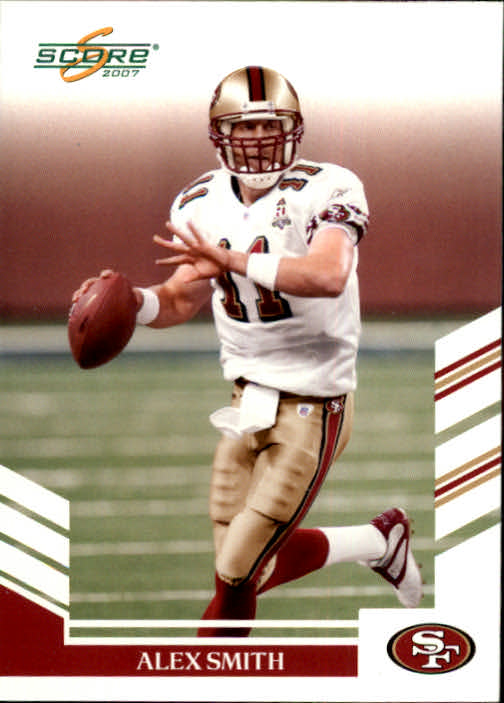 2007 Score #120 Alex Smith QB