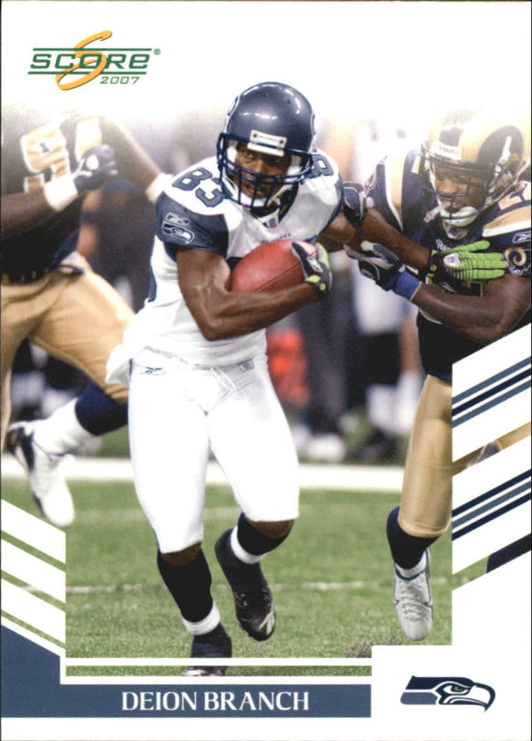 2007 Score Glossy #130 Deion Branch