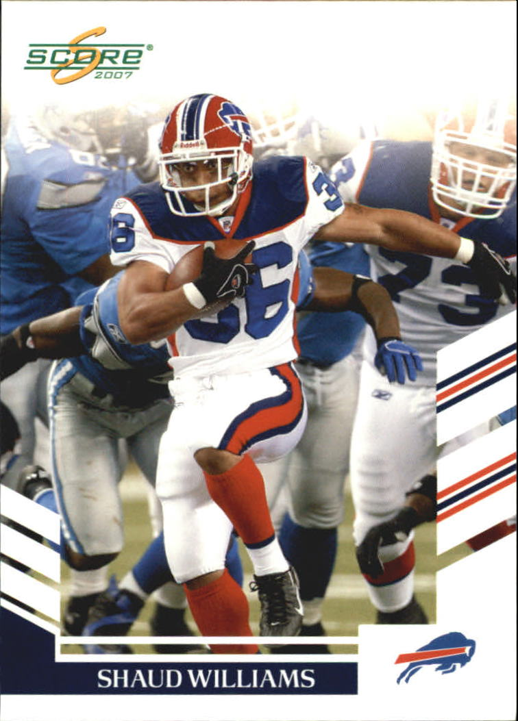 2007 Score Glossy #144 Shaud Williams