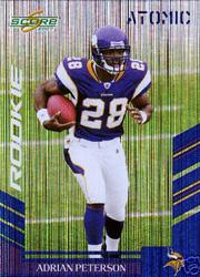 2007 Score Atomic #341 Adrian Peterson