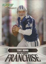 2007 Select Franchise #13 Tony Romo