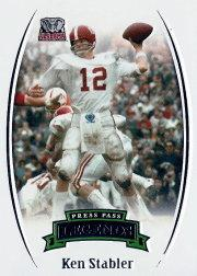 2007 Press Pass Legends #67 Ken Stabler