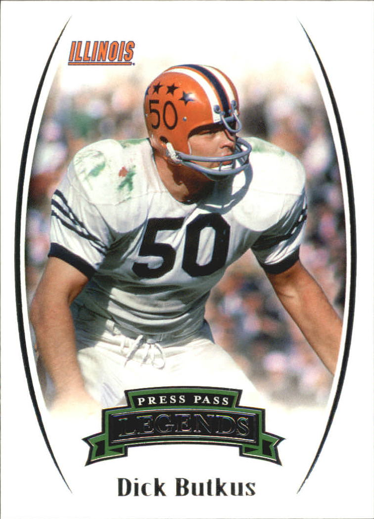 2007 Press Pass Legends #76 Dick Butkus