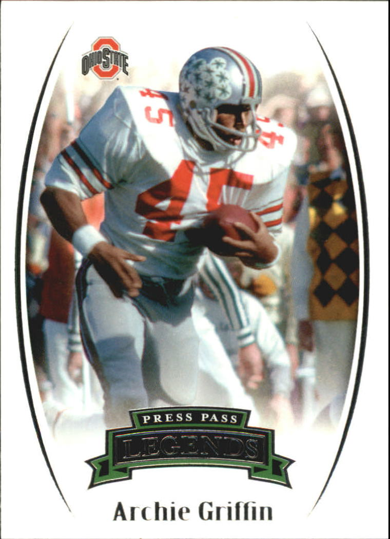 2007 Press Pass Legends #91 Archie Griffin