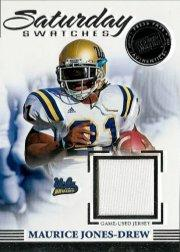2007 Press Pass Legends Saturday Swatches Silver #SSMJD Maurice Jones-Drew