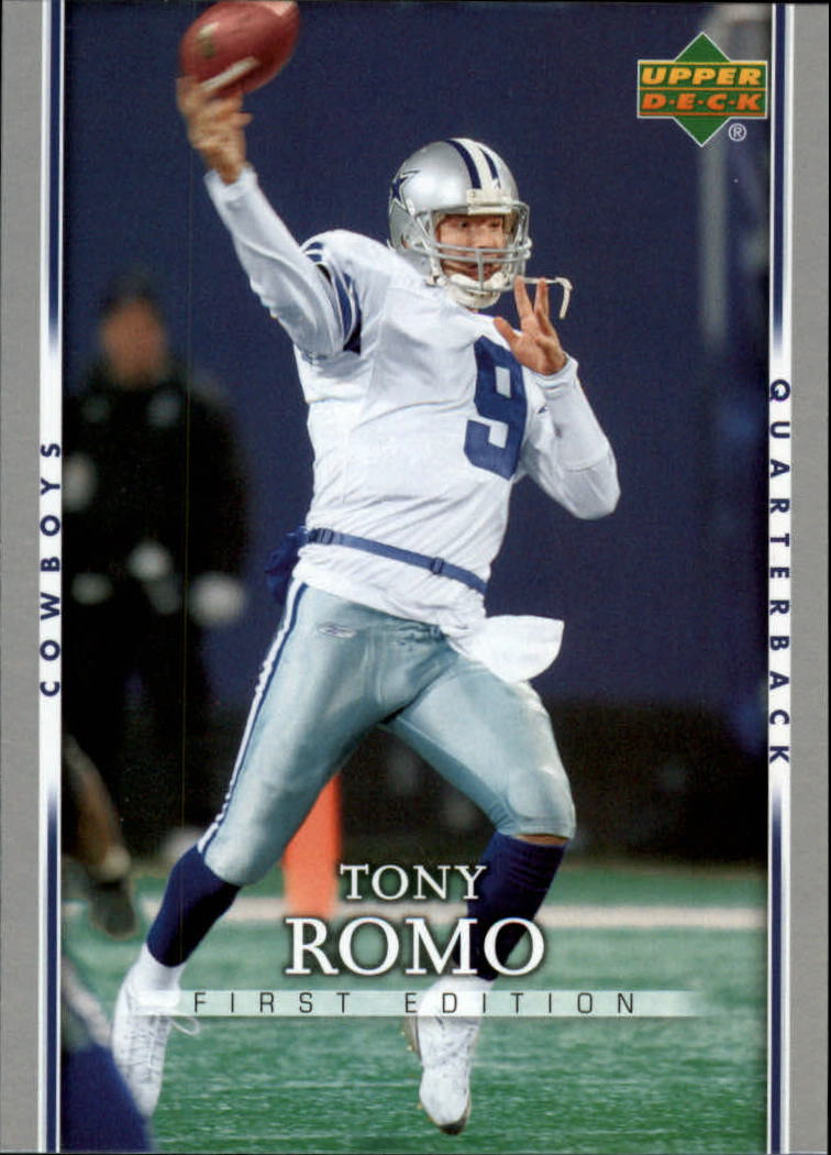 2007 Upper Deck First Edition #25 Tony Romo