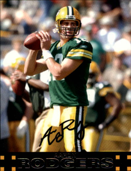 2007 Topps #18 Aaron Rodgers