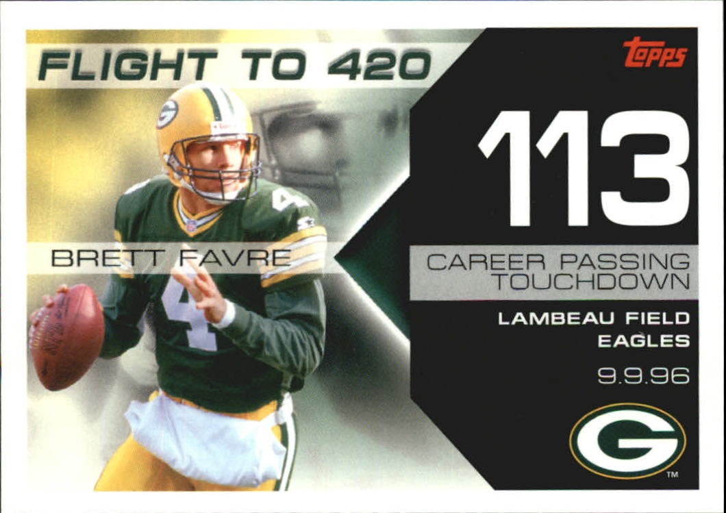 2007 Topps Brett Favre Collection #BF113 Brett Favre