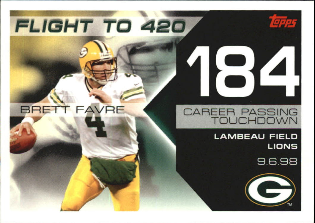 2007 Topps Brett Favre Collection #BF184 Brett Favre