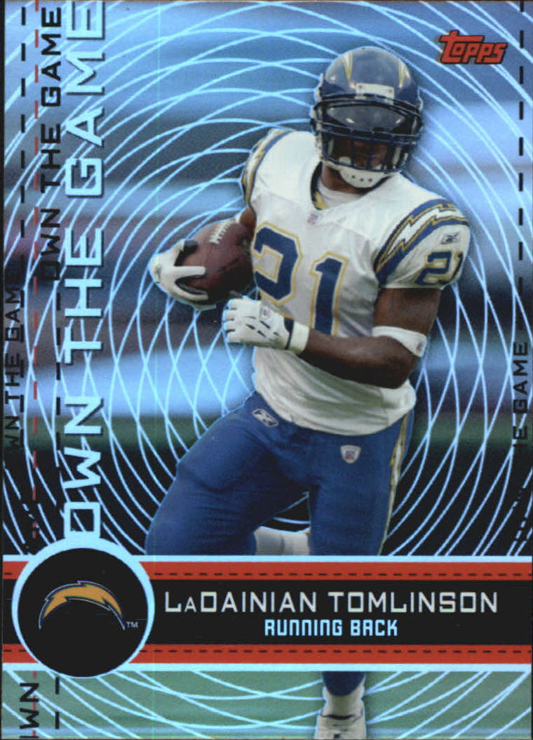2007 Topps Own The Game #OTGLT LaDainian Tomlinson