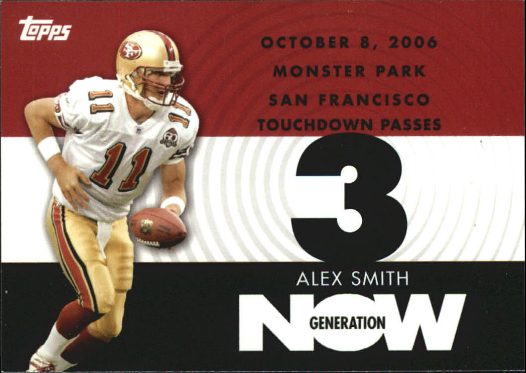 2007 Topps Generation Now #AS2 Alex Smith QB