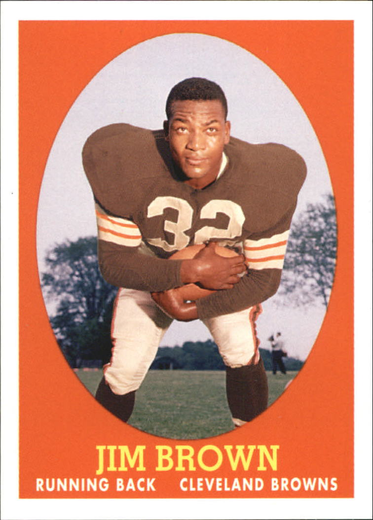 2007 Topps Turn Back The Clock #22 Jim Brown