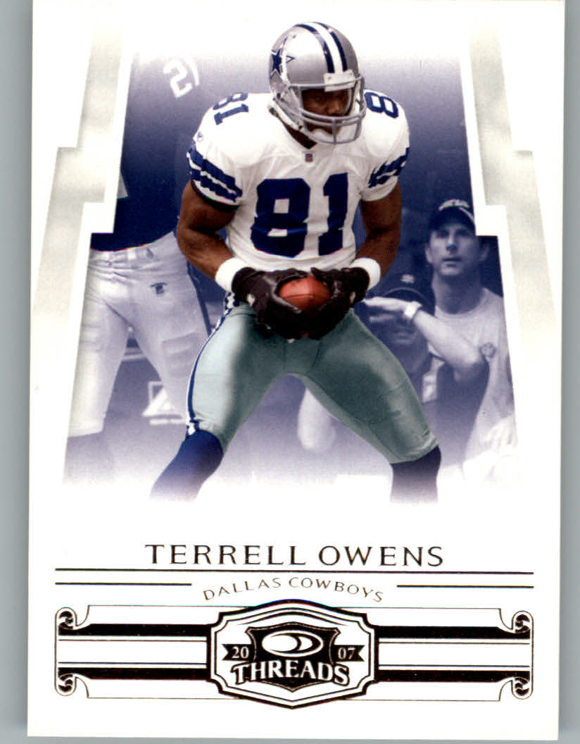 2007 Donruss Threads #15 Terrell Owens