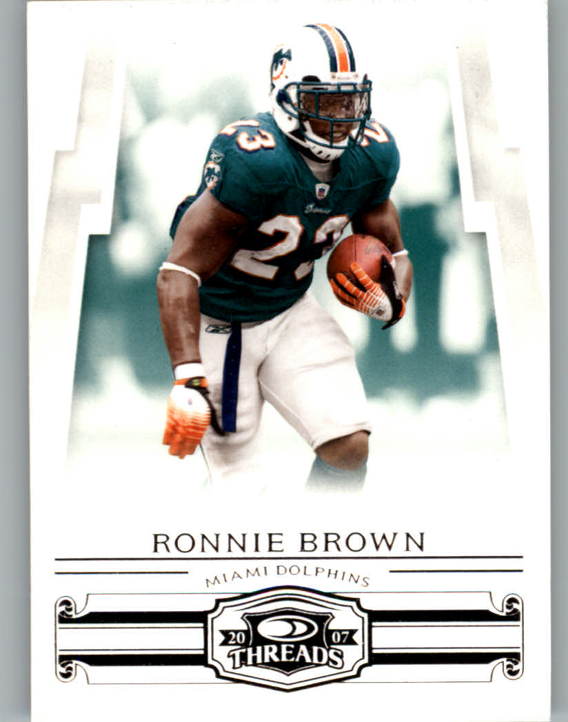 2007 Donruss Threads #98 Ronnie Brown