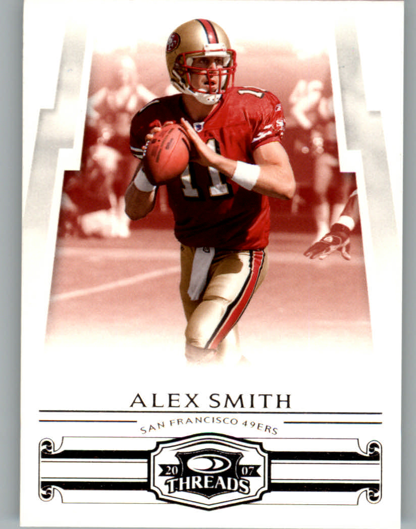 2007 Donruss Threads #117 Alex Smith QB