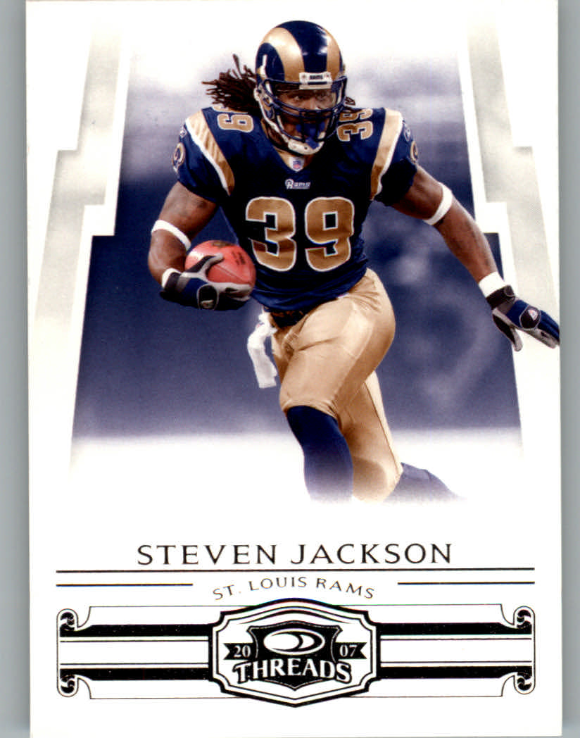2007 Donruss Threads #122 Steven Jackson