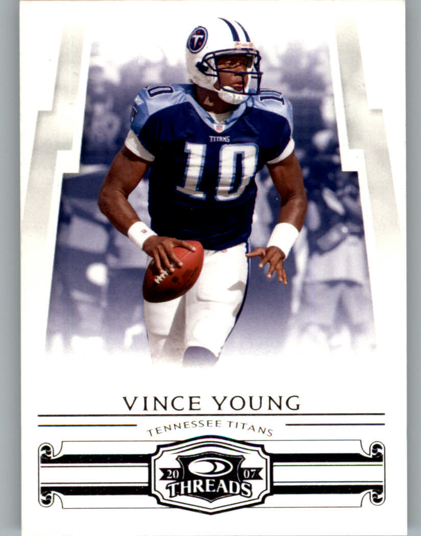 2007 Donruss Threads #143 Vince Young