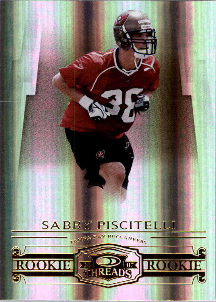 2007 Donruss Threads #198 Sabby Piscitelli RC