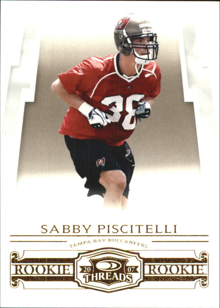 2007 Donruss Threads Retail Rookies #198 Sabby Piscitelli RC