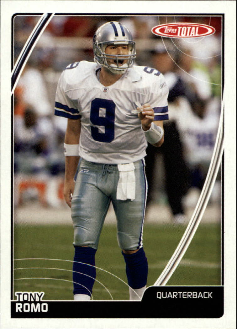 2007 Topps Total Team Checklists #TC9 Tony Romo