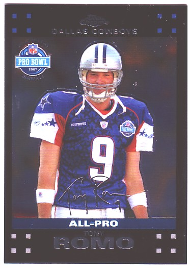 2007 Topps Chrome #TC104 Tony Romo PB