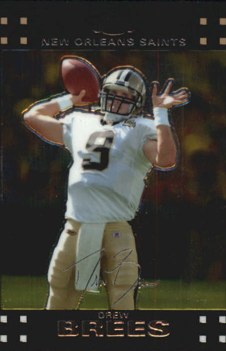 2007 Topps Chrome #TC116 Drew Brees