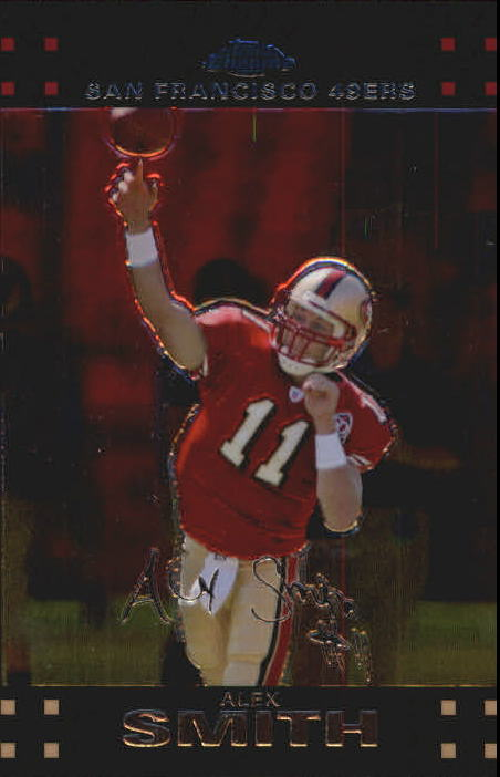 2007 Topps Chrome #TC118 Alex Smith QB