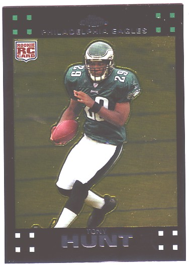 2007 Topps Chrome #TC187 Tony Hunt RC