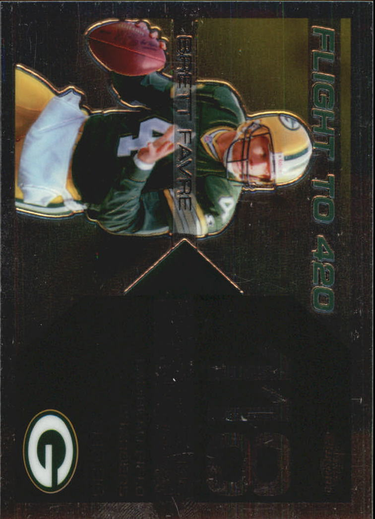 2007 Topps Chrome Brett Favre Collection #BF118 Brett Favre