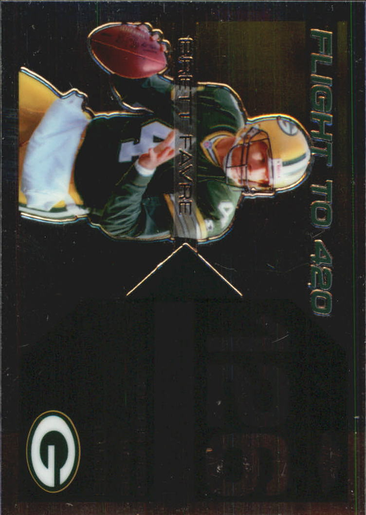 2007 Topps Chrome Brett Favre Collection #BF126 Brett Favre