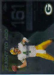 2007 Topps Chrome Brett Favre Collection #BF161 Brett Favre