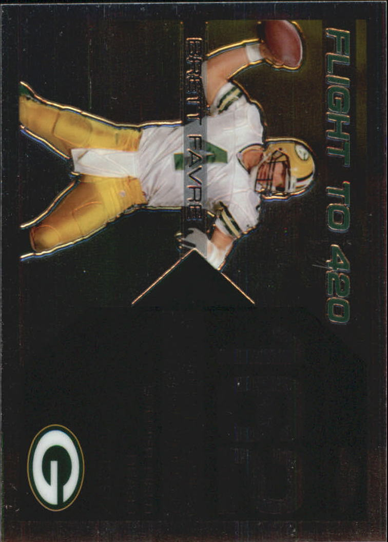 2007 Topps Chrome Brett Favre Collection #BF162 Brett Favre