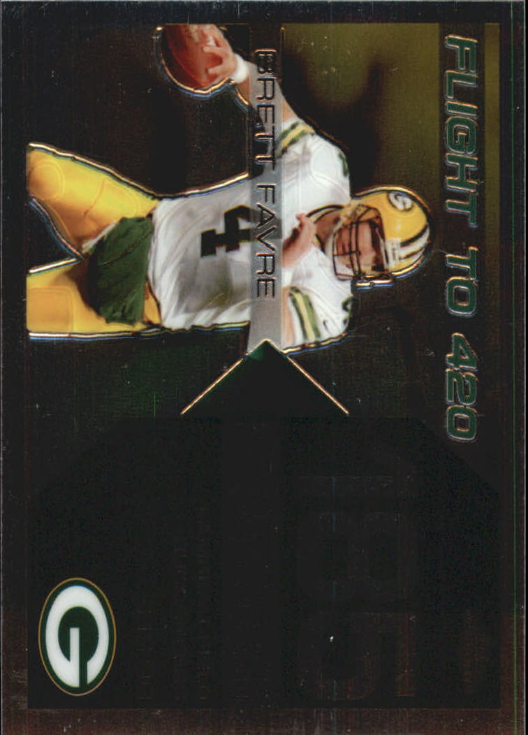 2007 Topps Chrome Brett Favre Collection #BF185 Brett Favre