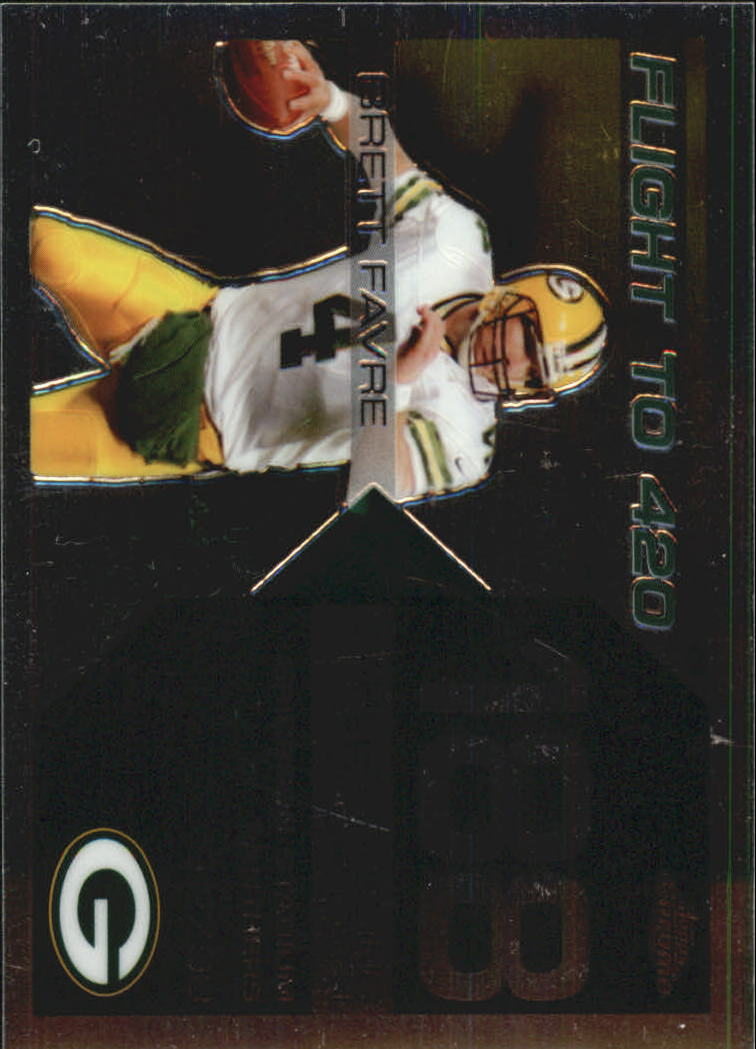 2007 Topps Chrome Brett Favre Collection #BF188 Brett Favre