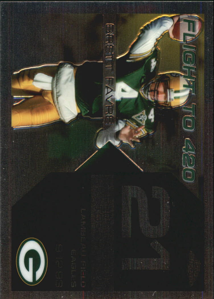 2007 Topps Chrome Brett Favre Collection #BF21 Brett Favre